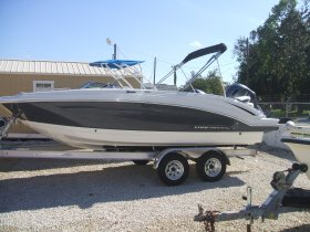 New 2018 Chaparral 191 Deck/Fisherman Power Boat for sale